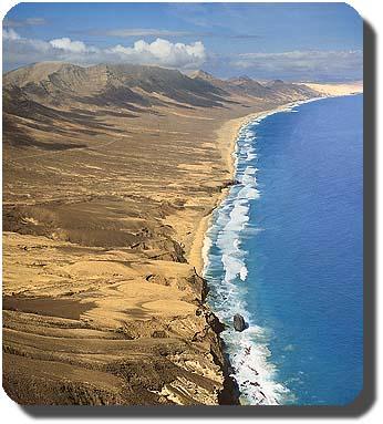 Cartina Spagna Fuerteventura.Mappa Isola Di Fuerteventura Isole Canarie Spagna